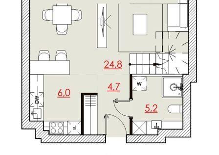 Продаётся 2-комнатная квартира, 85 м²