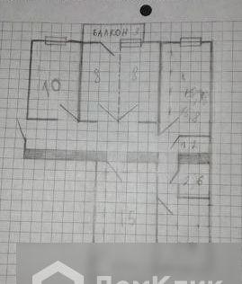 Продаётся 5-комнатная квартира, 80 м²