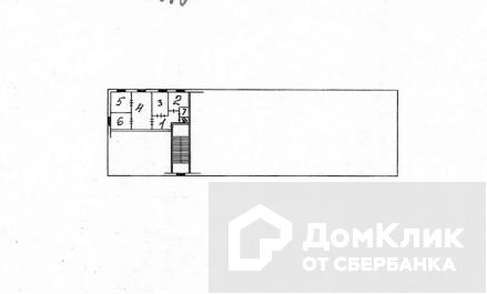 Продаётся 4-комнатная квартира, 57.84 м²