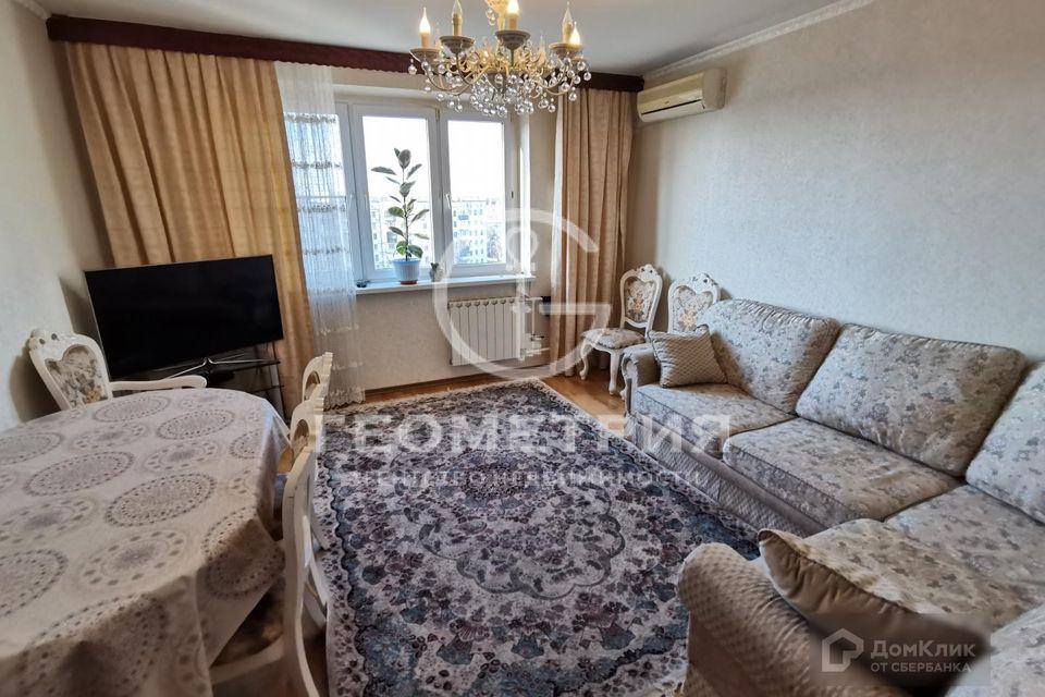 Продаётся 3-комнатная квартира, 72.8 м²