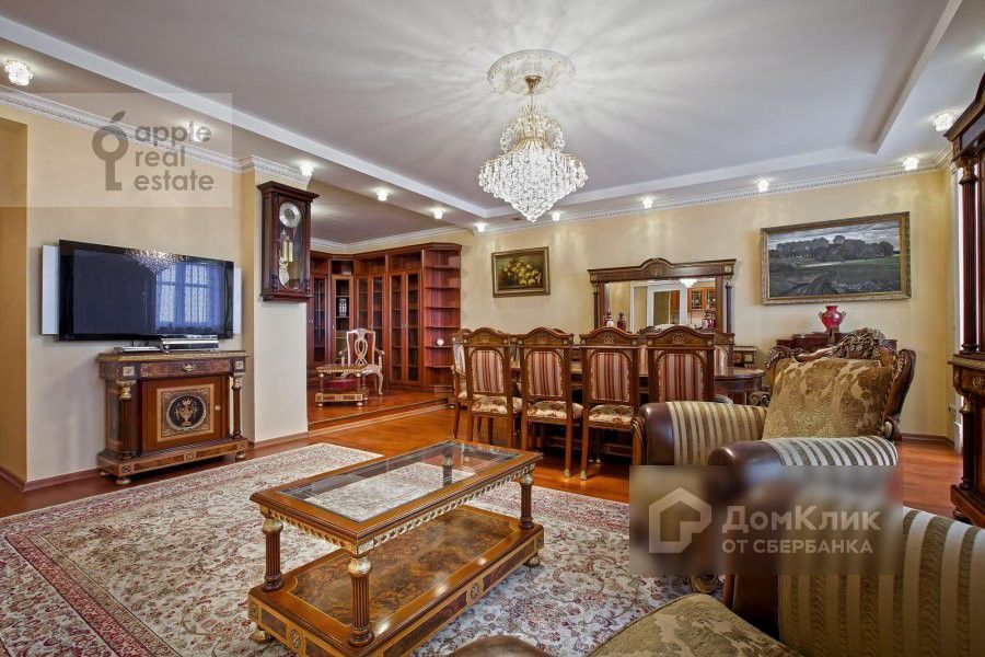 Продаётся 3-комнатная квартира, 200 м²